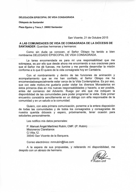 NOMBRAMIENTO-MANUEL-MARTINEZ-RUBIN-VIDA-CONSAGRADA-Oct-2015