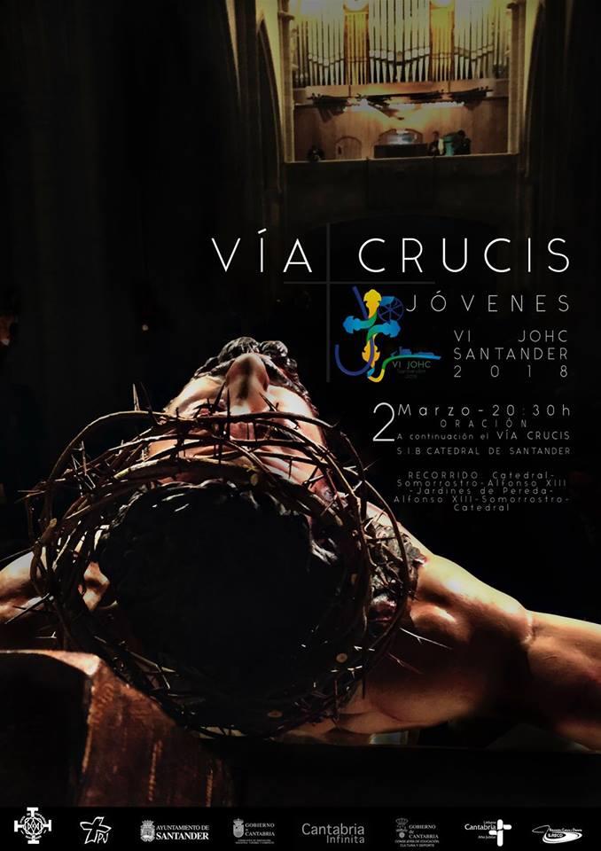 0c720d510eb Oración y Via Crucis de los Jóvenes con el Obispo